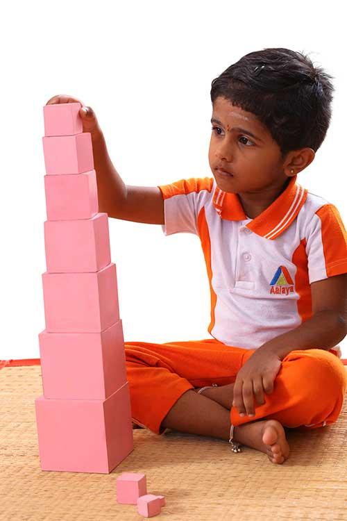 Montessori method of education materials